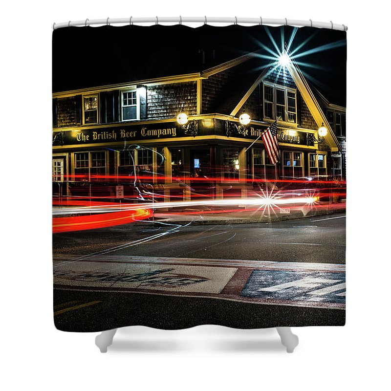 Shower Curtain featuring the photograph BBC by Kevin Friel