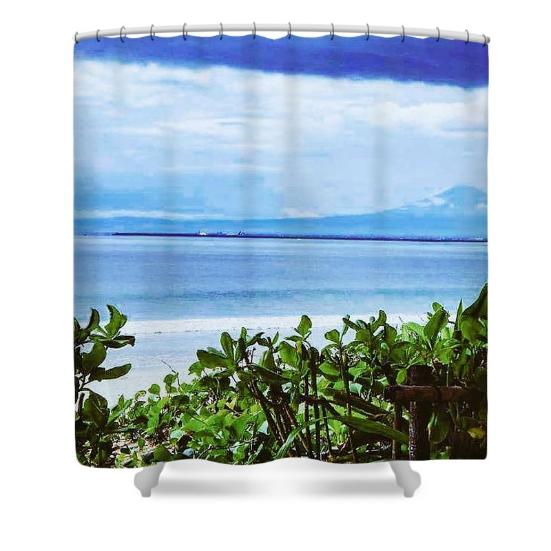 Sensation Shower Curtain featuring the photograph Beach Beauty by Khushboo N