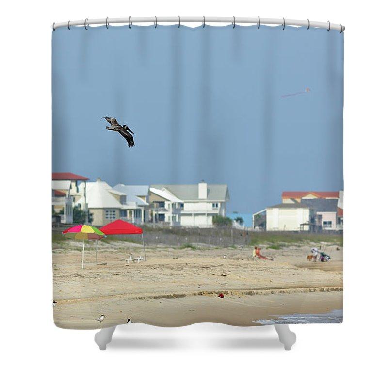 Beach Shower Curtain featuring the photograph Beach Vacation by John Wijsman