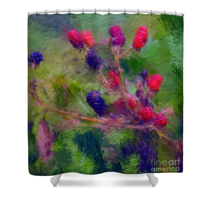 Nature Shower Curtain featuring the photograph Bear Fodder by David Lane