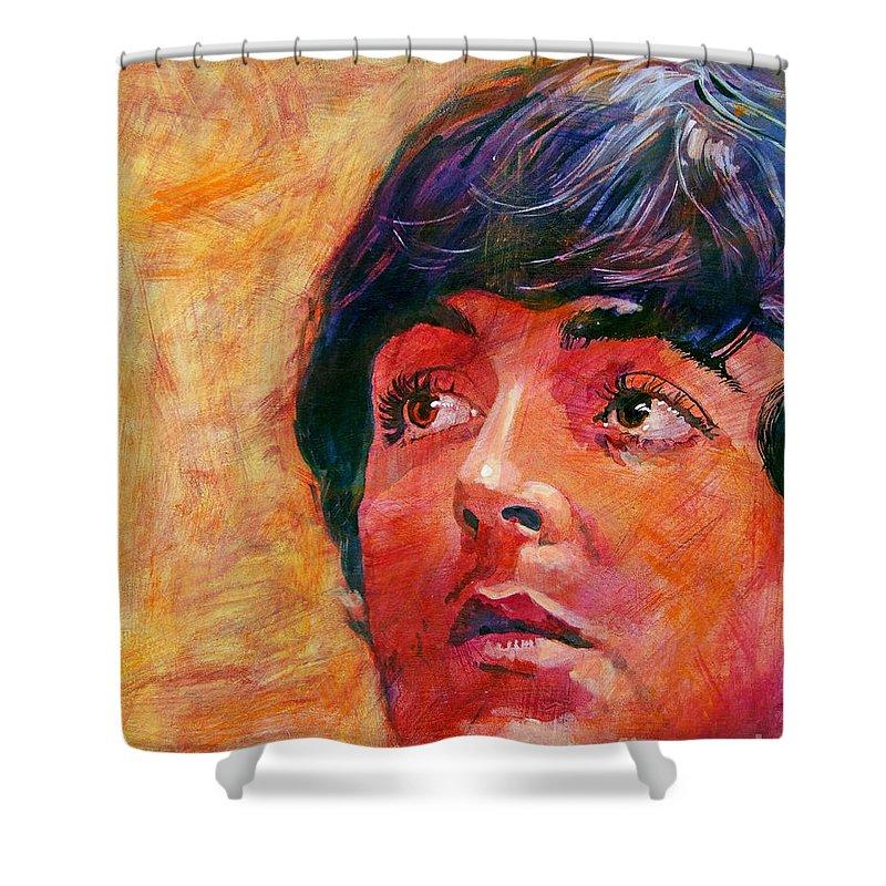 Paul Mccartney Shower Curtains