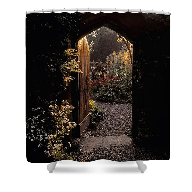 Co Louth Shower Curtain featuring the photograph Beaulieu House & Gardens, Co Louth by The Irish Image Collection
