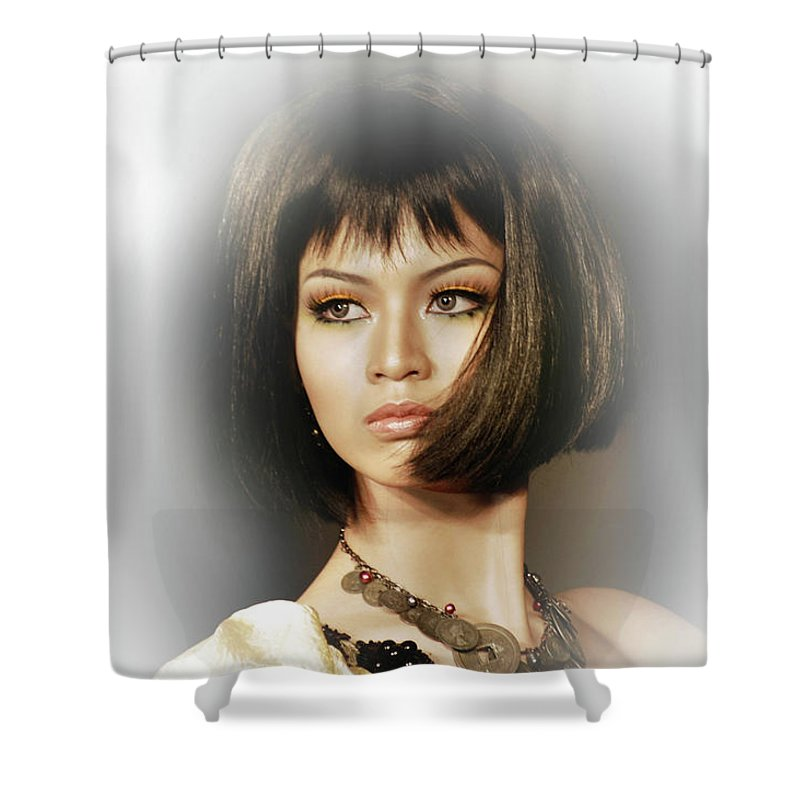 Shower Curtain featuring the photograph Beautiful by Charuhas Images