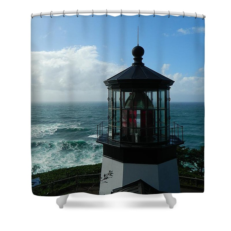 Oregon Shower Curtain featuring the photograph Beautiful Day by Gallery Of Hope
