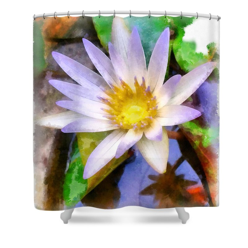 Flower Shower Curtain featuring the photograph Beautiful Flower by Ashish Agarwal