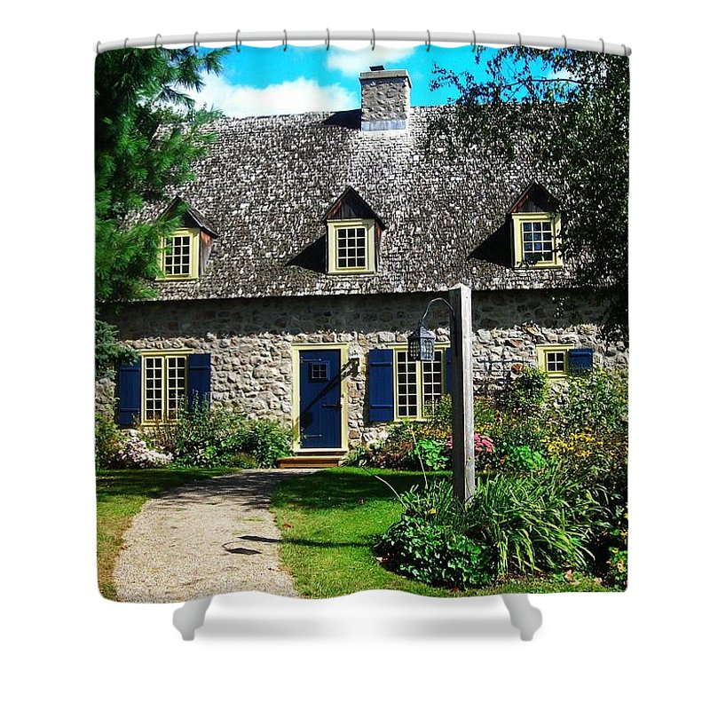 North America Shower Curtain featuring the photograph Beautiful Home ... by Juergen Weiss