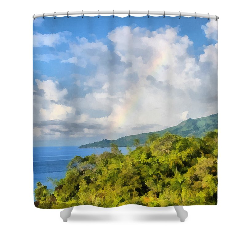 Beautiful Scenery Shower Curtain featuring the photograph Beautiful Landscape by Ashish Agarwal