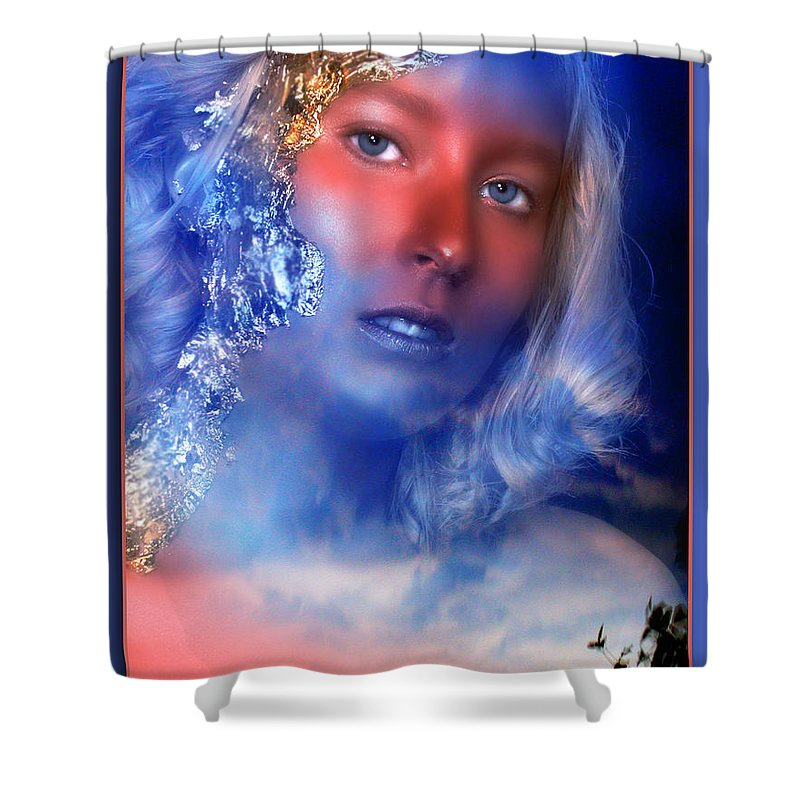 Clay Shower Curtain featuring the photograph Beauty In The Clouds by Clayton Bruster