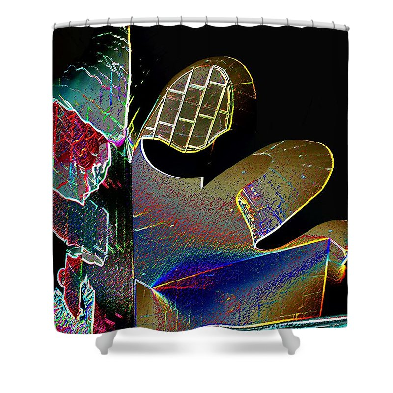 Music Shower Curtain featuring the photograph Beauty Of Music by Tim Allen