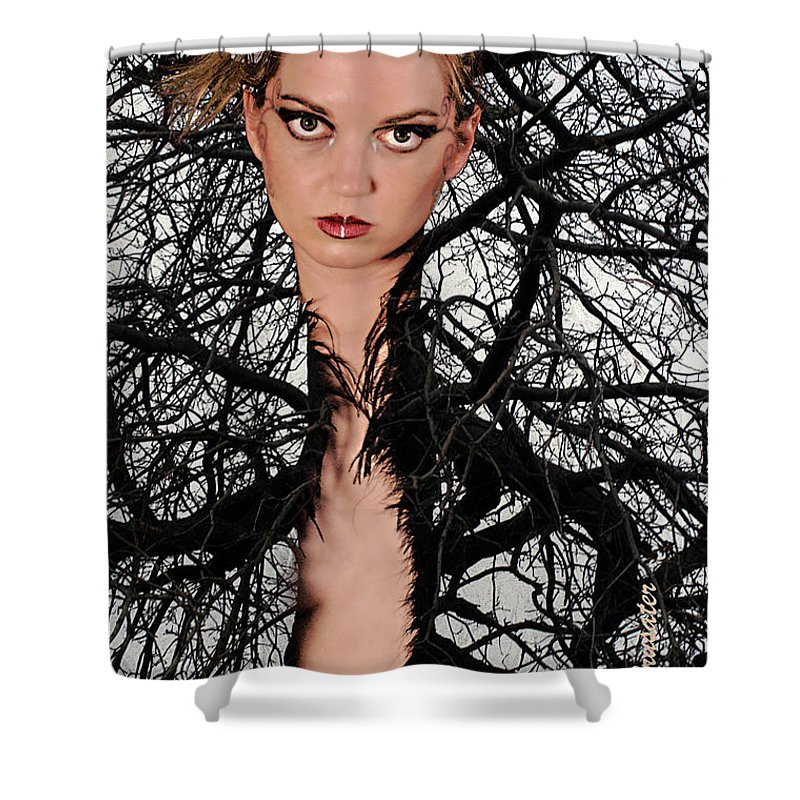 Composite Shower Curtain featuring the photograph Beauty Of Nature by Clayton Bruster