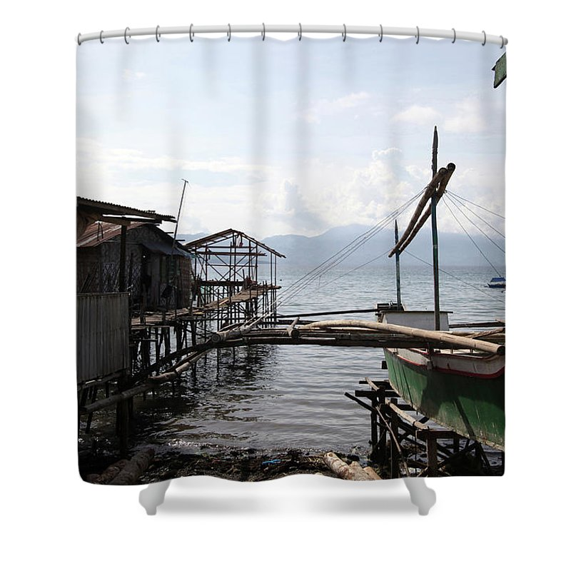Mati Shower Curtain featuring the photograph Beauty Or Squalour by Jez C Self