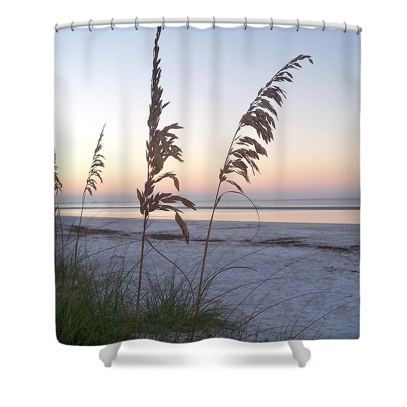 Florida Shower Curtain featuring the photograph Before Day by Chris Andruskiewicz