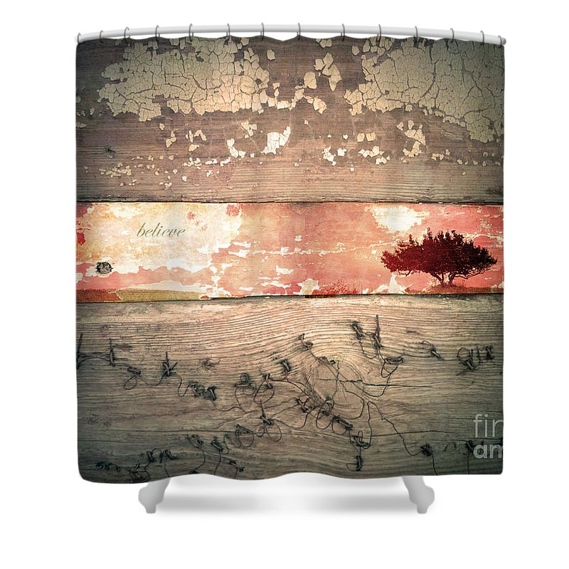 Believe Shower Curtain featuring the photograph Believe by Tara Turner