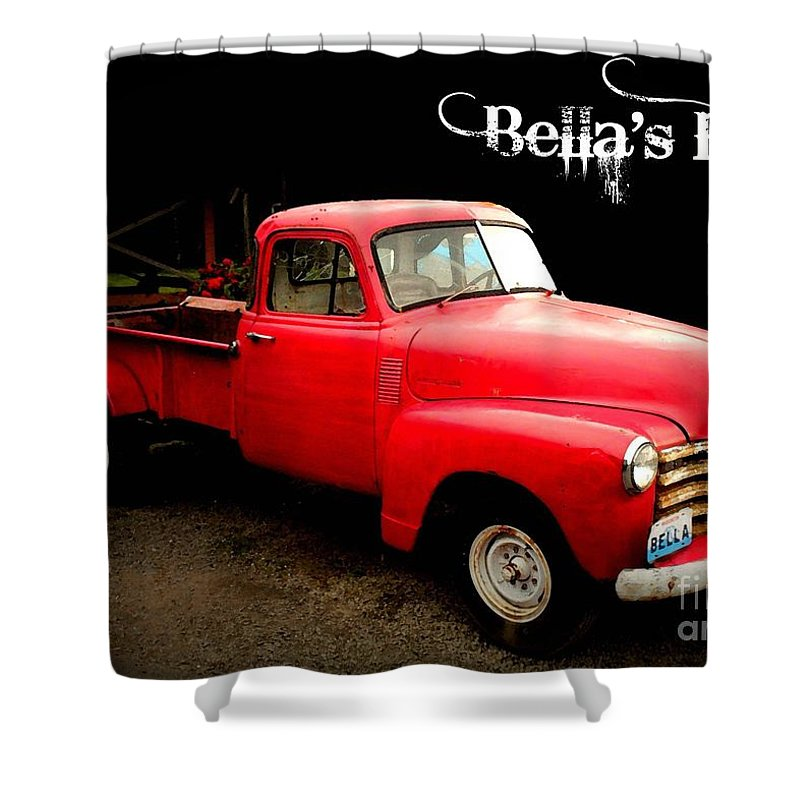 Bella Shower Curtain featuring the photograph Bella's Ride by Carol Groenen
