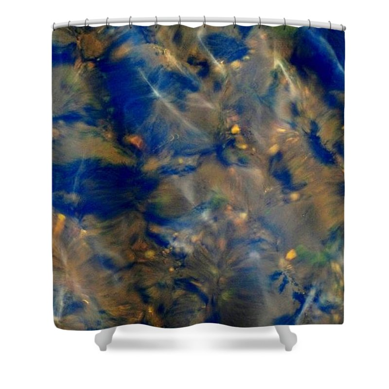 Beneath The Surface Shower Curtain featuring the photograph Beneath The Surface by Mike Breau