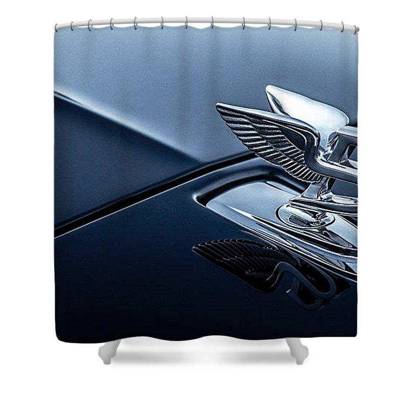Hood Ornament Shower Curtains