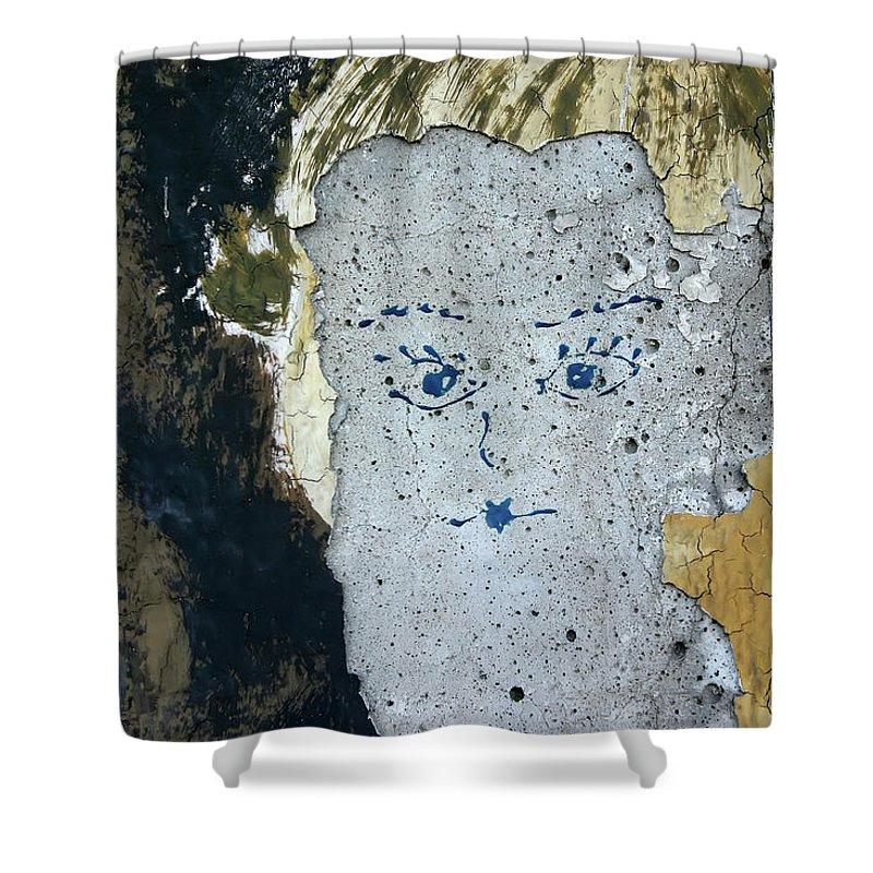 Berlin Shower Curtain featuring the photograph Berlin Wall Mural by KG Thienemann