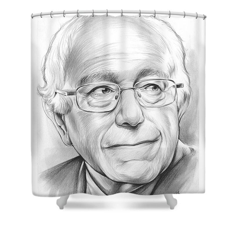 Bernie Sanders Shower Curtains