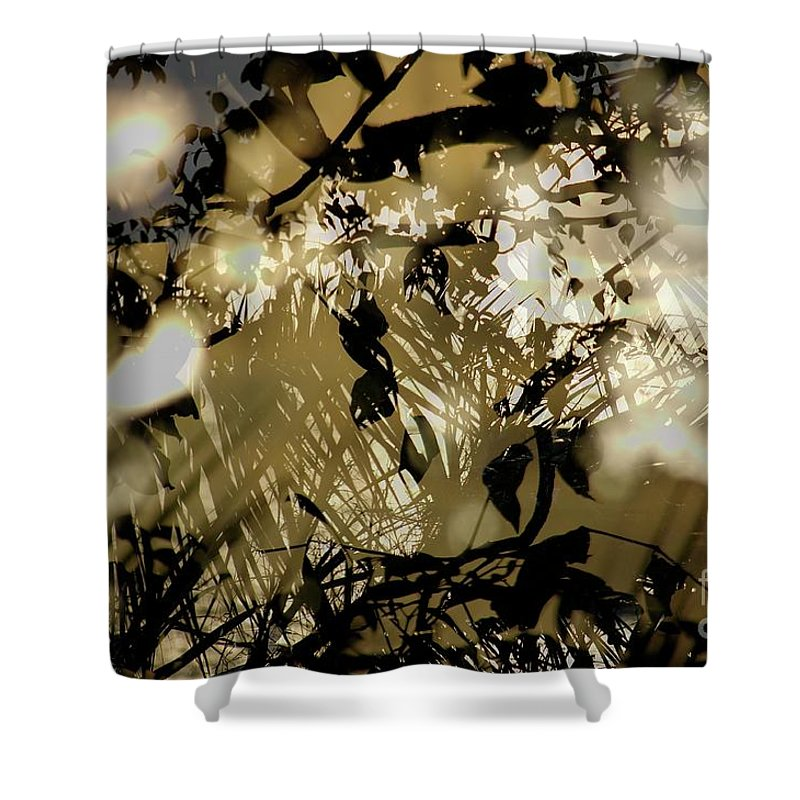 Surreal Shower Curtain featuring the photograph Beulahland by Lewis Lang