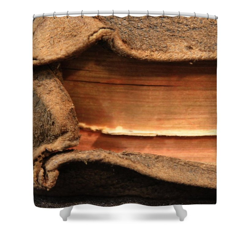 Bible Shower Curtain featuring the photograph Bibeln by Lauri Novak