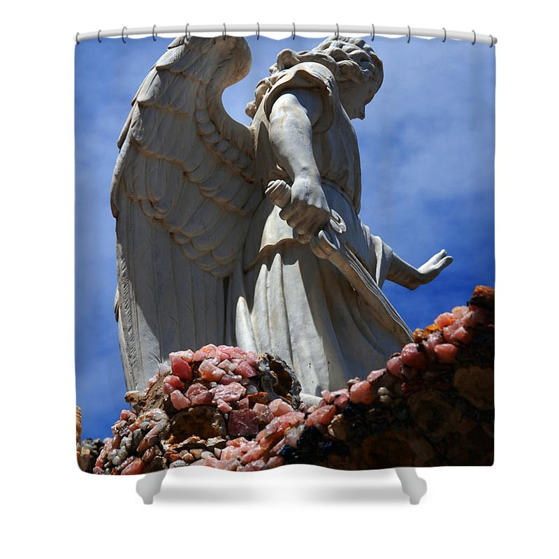 Angel Shower Curtain featuring the photograph Big Angel Wings by Susanne Van Hulst