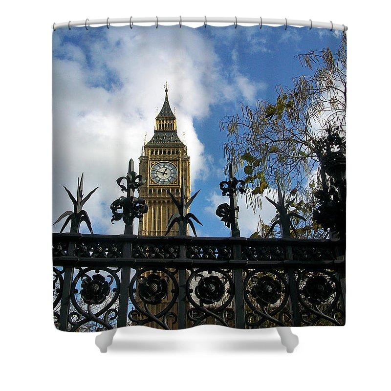 London Shower Curtain featuring the photograph Big Ben by Munir Alawi
