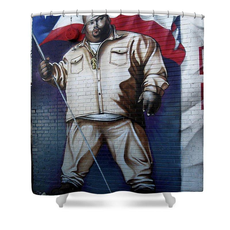 Big Pun Shower Curtain featuring the photograph Big Pun by RicardMN Photography