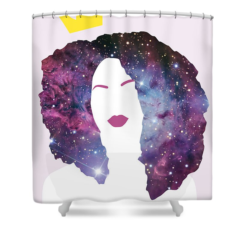 Black Girl Magic Sparkle Shower Curtain For Sale By Karissa Tolliver