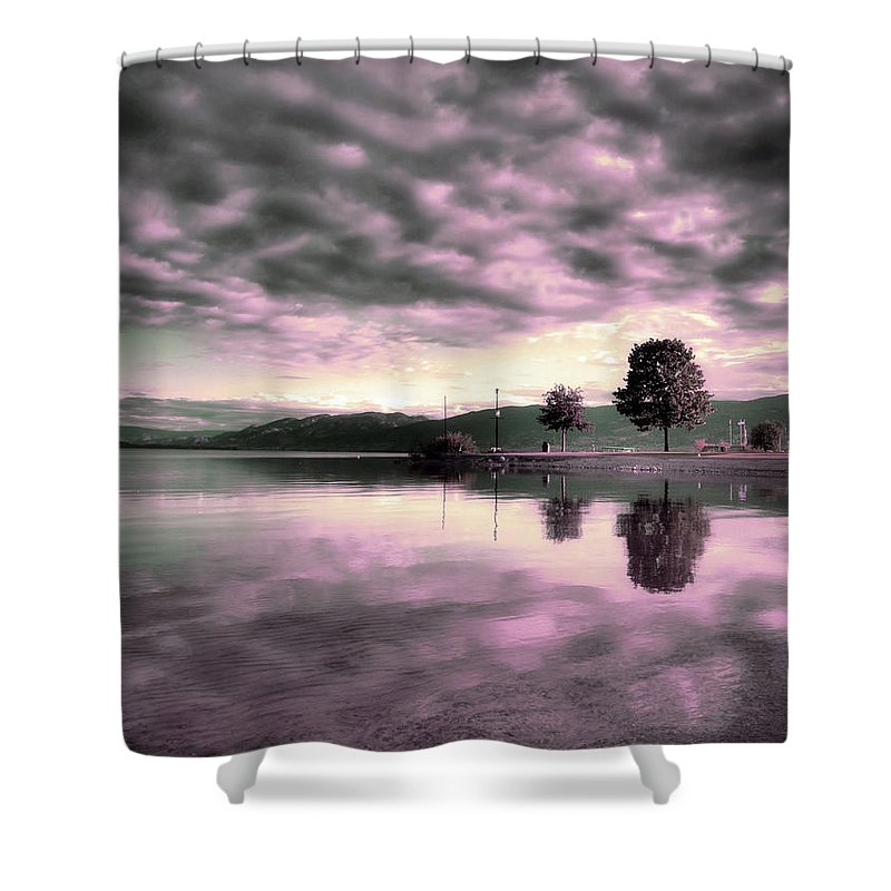 Clouds Shower Curtain featuring the photograph Blanketed by Tara Turner