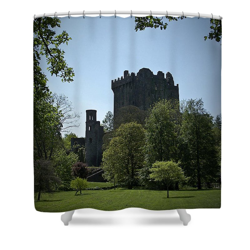 Irish Shower Curtain featuring the photograph Blarney Castle Ireland by Teresa Mucha