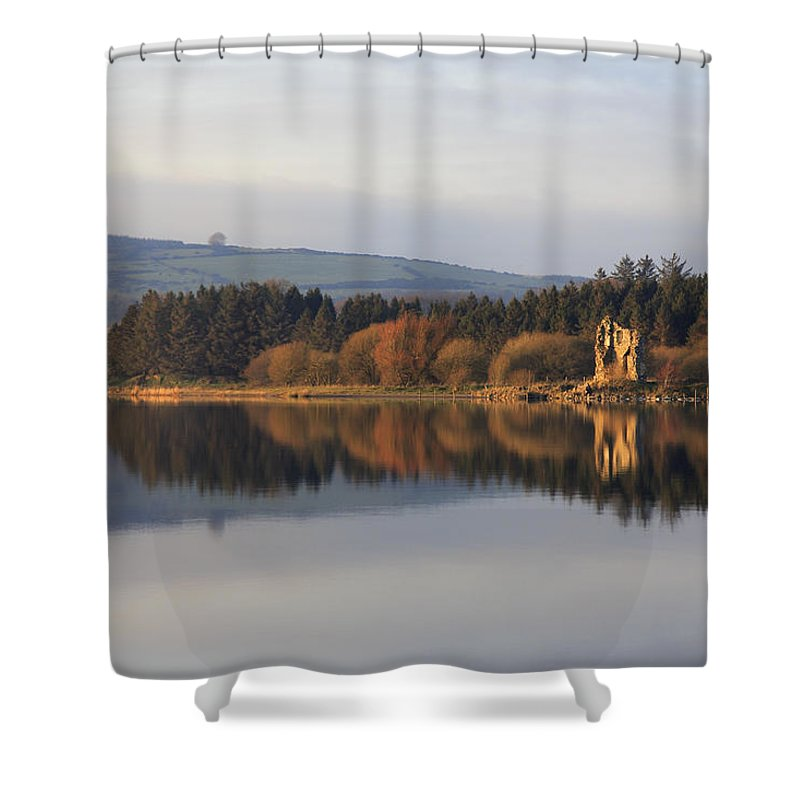 Lake Shower Curtain featuring the photograph Blessington Lakes by Phil Crean