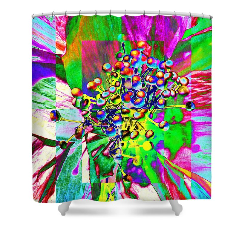 Bloom Shower Curtain featuring the photograph Blooming Delightful by Tim Allen
