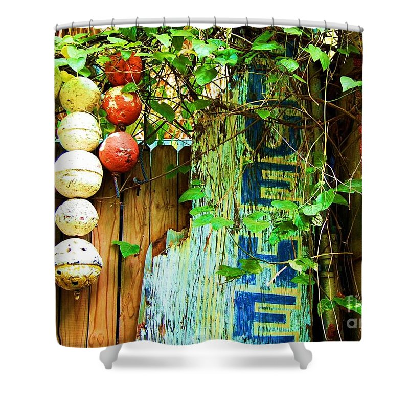 Blue Heaven Shower Curtain featuring the photograph Blue Heaven by Debbi Granruth