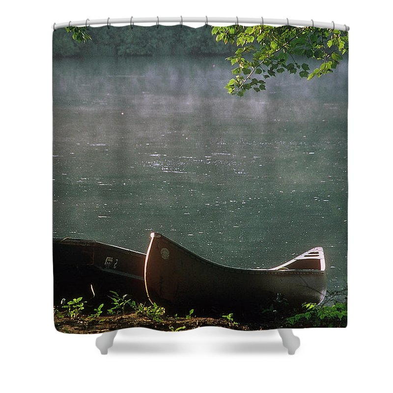 Natchez Shower Curtain featuring the photograph Boats - Natchez by D'Arcy Evans