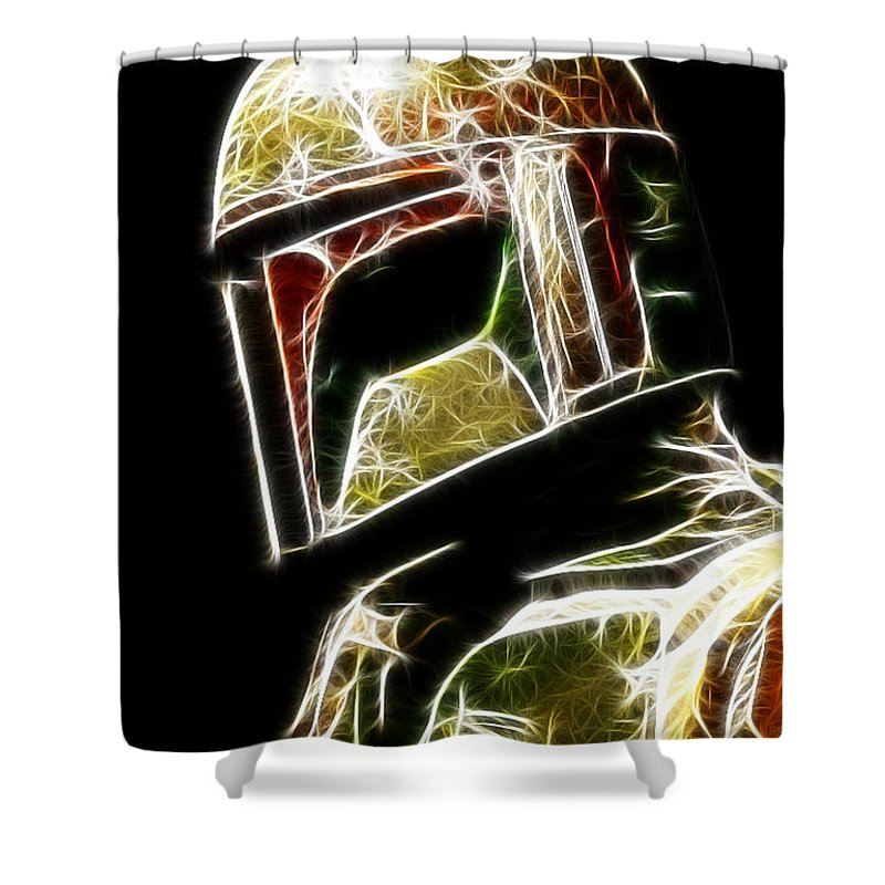 Boba Fett Shower Curtains
