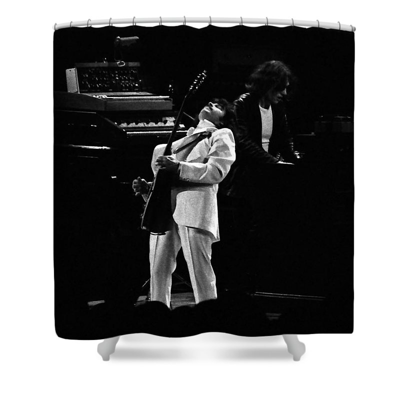 Blue Oyster Cult Shower Curtain featuring the photograph Boc#148 by Ben Upham
