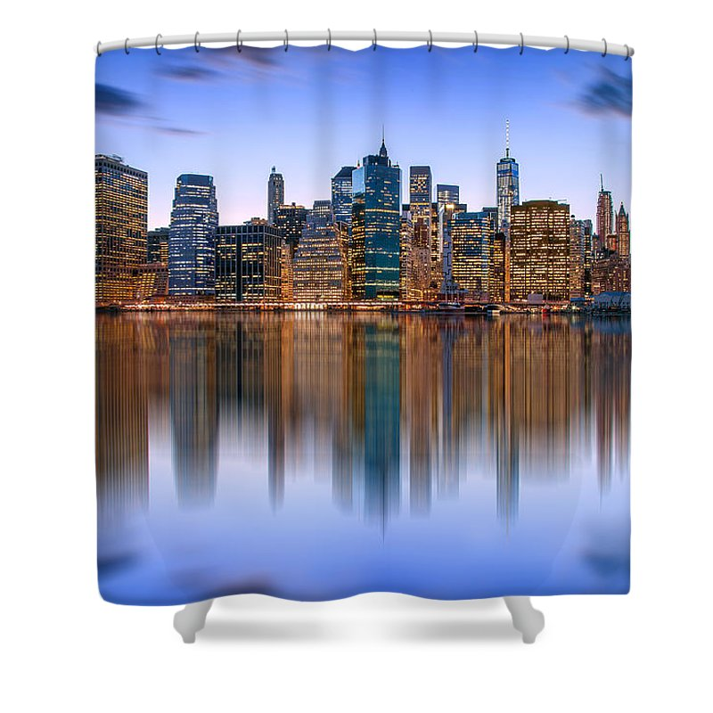 New York City Shower Curtain featuring the photograph Bold And Beautiful by Az Jackson