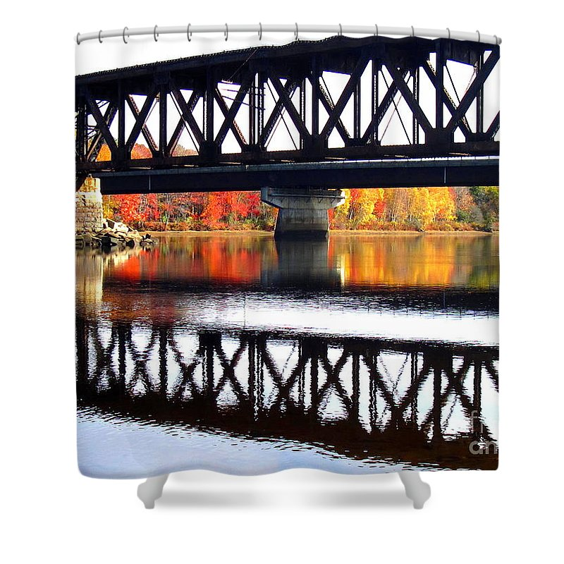Water Shower Curtain featuring the photograph Bold and Beautiful by Sybil Staples