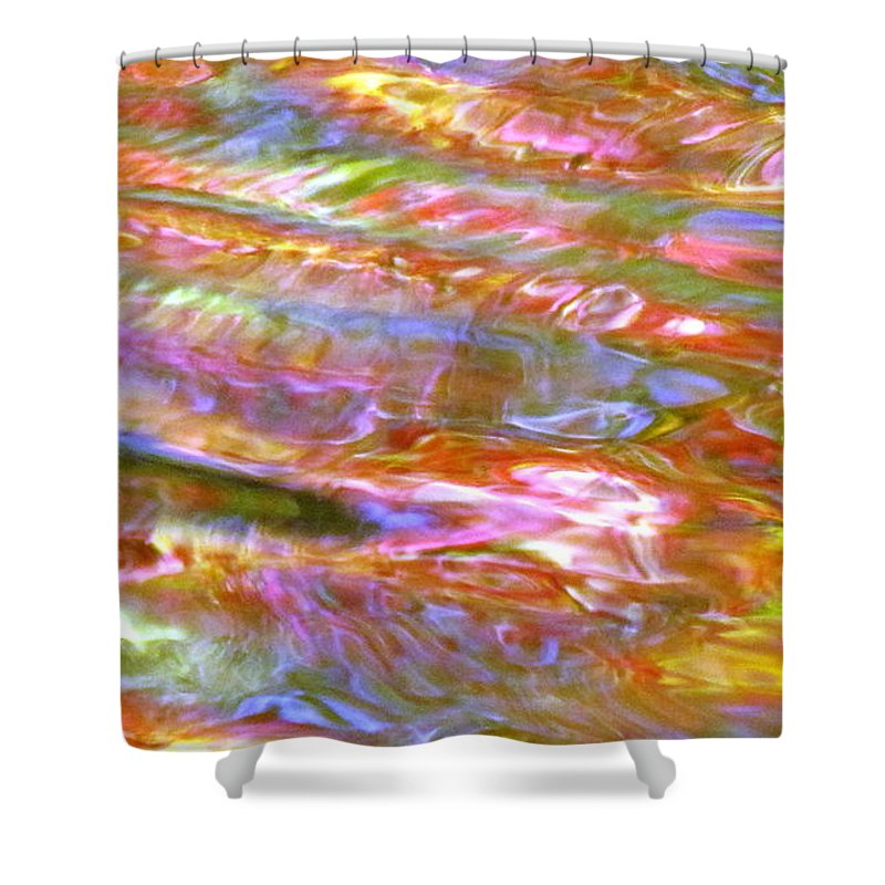 Abstract Shower Curtain featuring the photograph Beautiful Bones by Sybil Staples