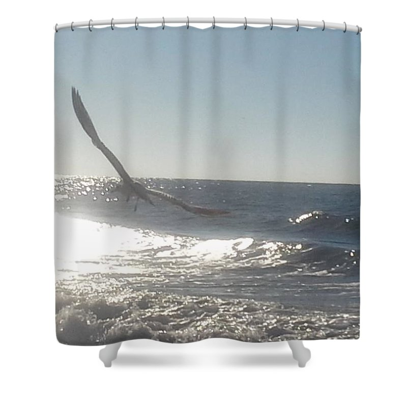 Shower Curtain featuring the photograph Born Free by Becky Haines