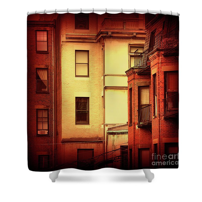 Boston Shower Curtain featuring the photograph Boston Roots by Dana DiPasquale