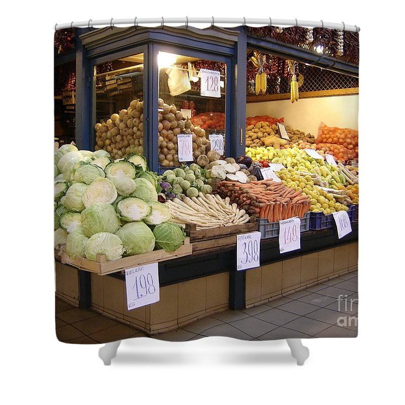 Food Shower Curtain featuring the photograph Bountiful by Mary Rogers