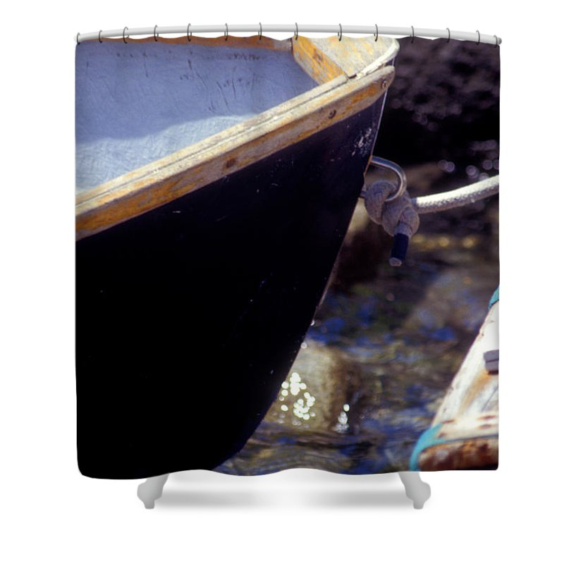 Row Boat Shower Curtain featuring the photograph Bow Tie by Brent L Ander
