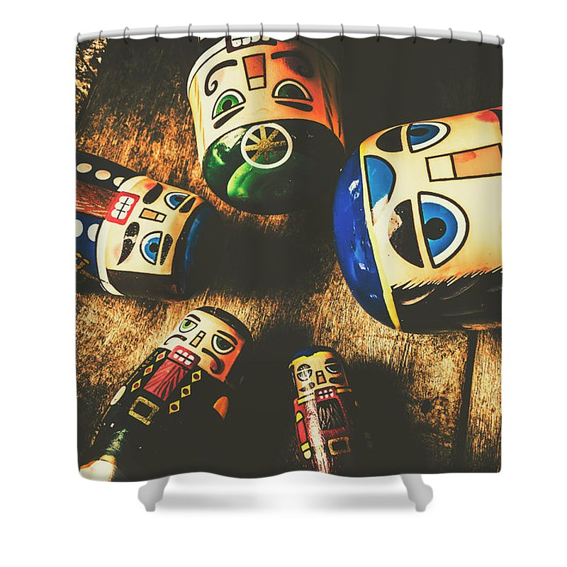 Still Life Shower Curtain featuring the photograph Brainstorming Game by Jorgo Photography - Wall Art Gallery
