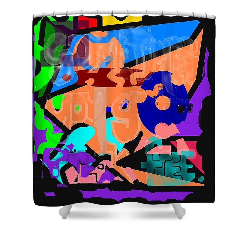 Free Shower Curtain featuring the digital art Break Free by Pharris Art