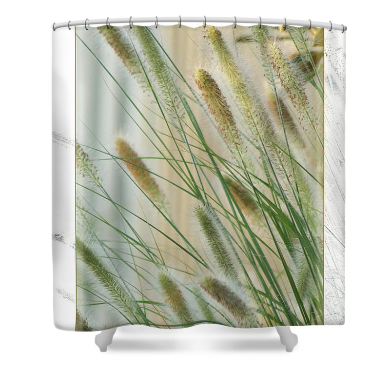 Floral Shower Curtain featuring the photograph Breeze by Holly Kempe