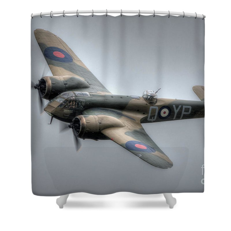 Bristol Blenheim Shower Curtain Featuring The Digital Art Top Shot By Nigel Bangert