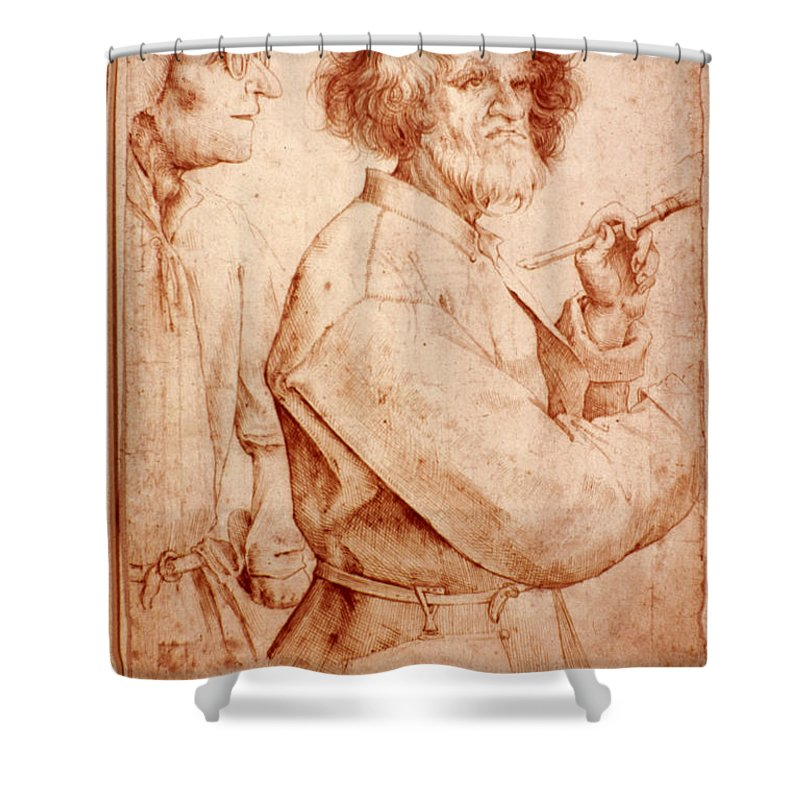 16th Century Shower Curtain featuring the photograph Bruegel: Painter, 1565 by Granger