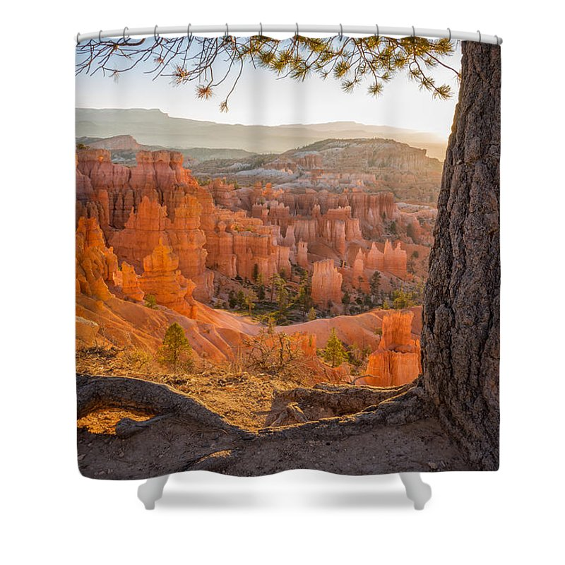 Bryce Canyon Sunrise National Park Utah Shower Curtain featuring the photograph Bryce Canyon National Park Sunrise 2 - Utah by Brian Harig