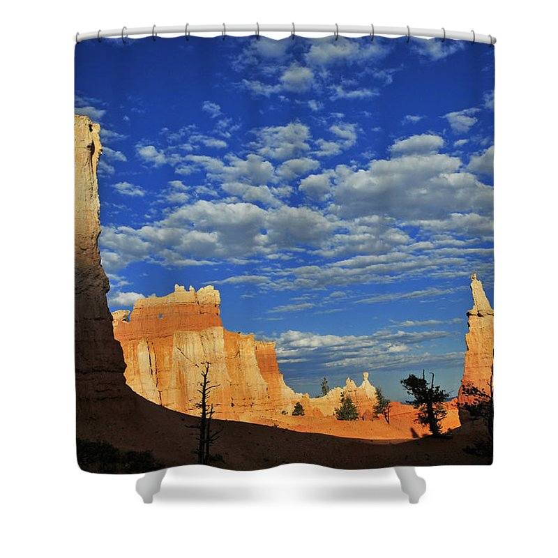 Bryce Time Shower Curtain featuring the photograph Bryce Time by Skip Hunt
